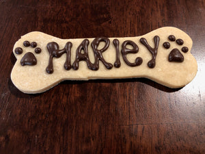 Personalized Bone Cookie