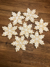 Load image into Gallery viewer, Snowflake Cookie