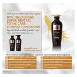 Ryo Super Revital Shampoo/Conditioner 400ml (Normal/Dry Scalp)