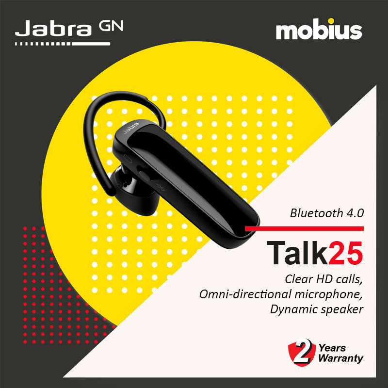 Jabra TALK 25 Mono Bluetooth Headset