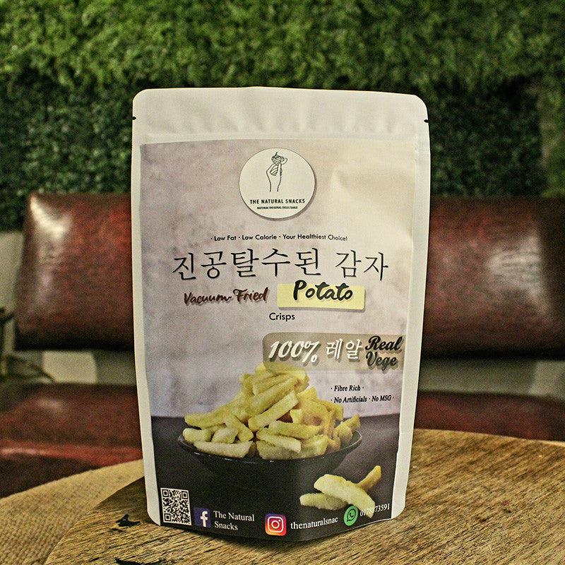 The Natural Snacks - Vacuum-Fried Potato Healthy Snacks 50G/100G