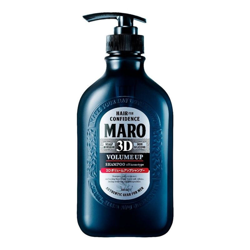 MARO 3D Volume Up Shampoo Ex 起立! 3D丰盈洗发精 460ml (Black 491705)
