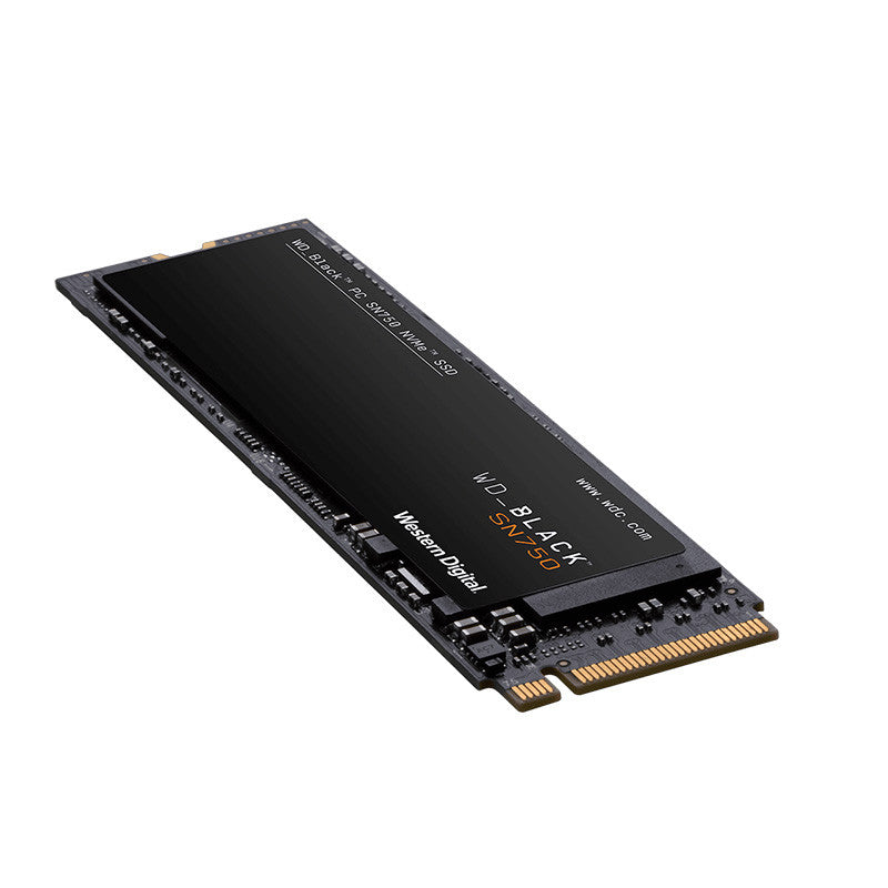 "WD Black 2.5"" M.2 2280 SSD 3D PCIE GEN3 SN750 NVMe Without Heatsink - 500GB/1TB/2TB"