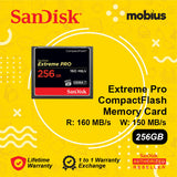 Sandisk 256GB Extreme Pro CompactFlash CF Memory Card
