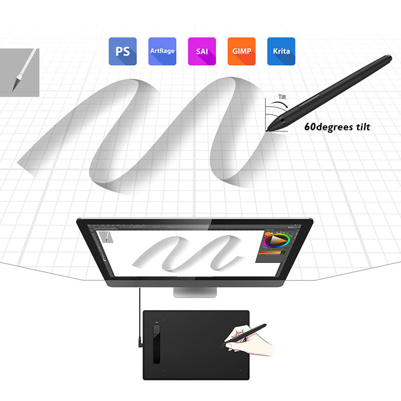 XP-Pen Star G960S Drawing Tablet