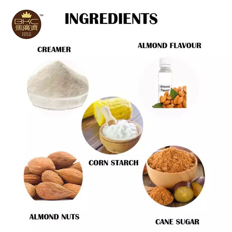 BKC Pre-mix Apricot (Almond) Kernels Powder/Refill Pack/Less Sweet (Twin Pack)/Oat/Coffee/All in 1/Ginger