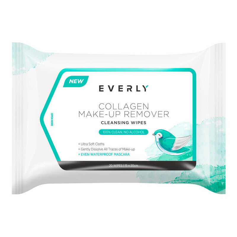 EVERLY Collagen Make-Up Remover Wipes 20pcs