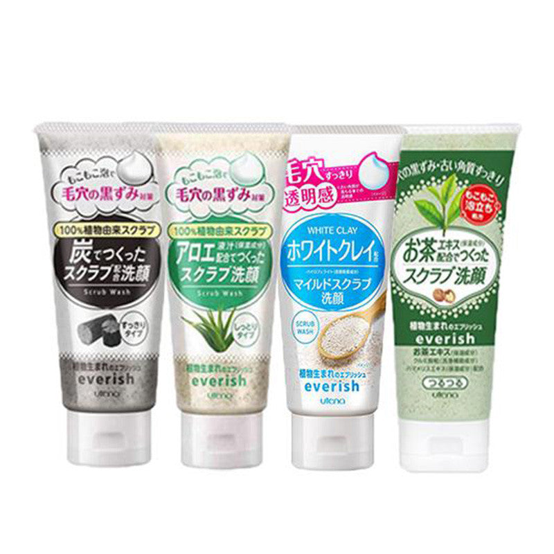 Utena Everish Scrub Wash 130G [4 Type To Choose]
