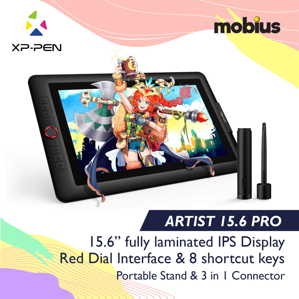 XP-Pen Artist Display 15.6 Pro Drawing Tablet