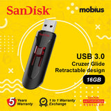 SanDisk 16GB Cruzer Glide CZ600 USB3.0 Flash Drive