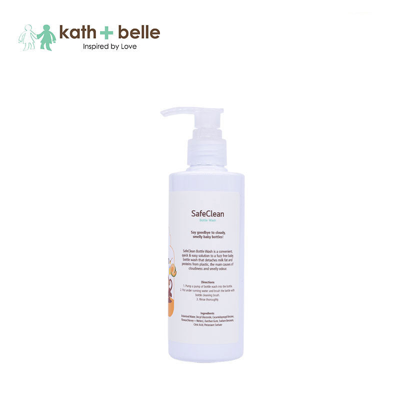 Kath + Belle Safe Clean Baby Bottle Cleanser 250ML