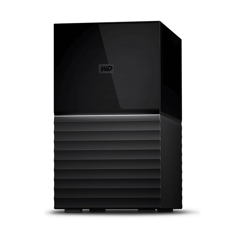 "WD My Book Duo 3.5"" USB3.0 Personal Storage 8/16/20/24TB - Black"