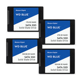 WD Blue PC 3D NAND SATA SSD M.2 2280 - 250/500GB/1/2TB
