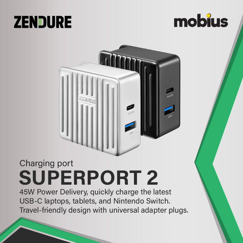 Zendure SuperPort 2 Wall Charger with PD