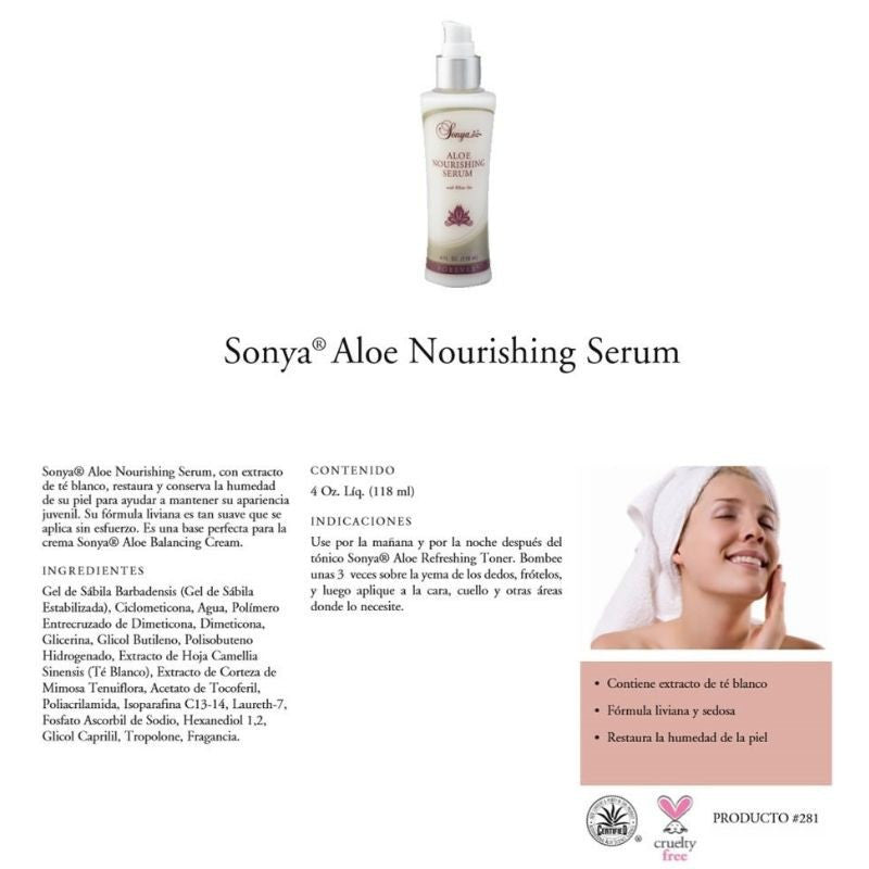 Forever Living Sonya Aloe Nourishing Serum
