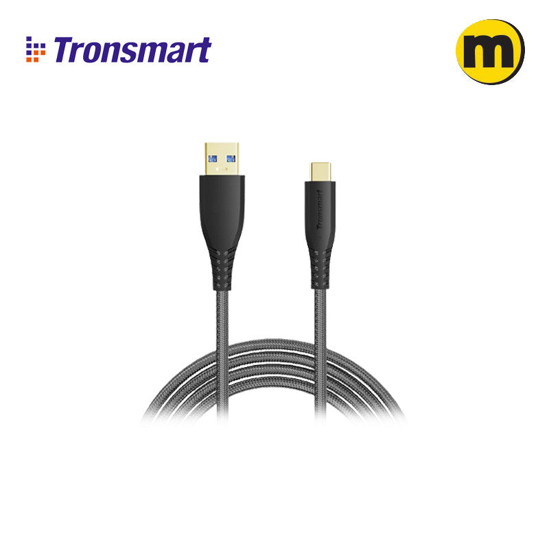 Tronsmart TAC01 3ft USB-C to USB-A 3.0 Fast Charging Cable