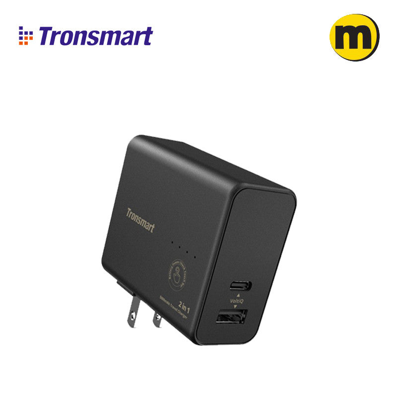 Tronsmart WPB01 2 in 1 Portable Travel Charger