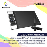 XP-Pen Deco Pro Medium Drawing Tablet