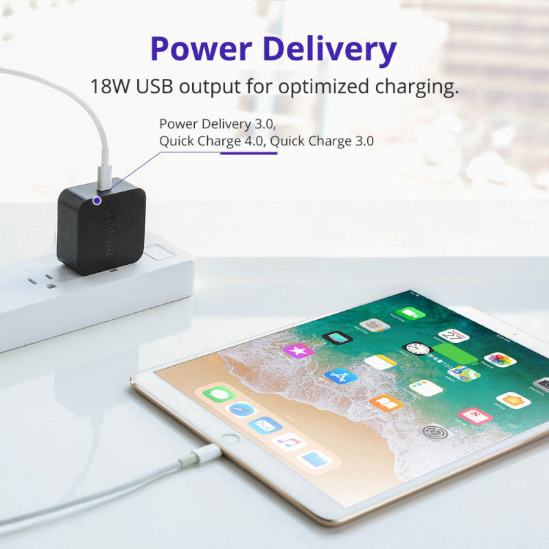 Tronsmart WCP01 USB-C PD 3.0 Wall Charger