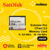 Sandisk 256GB Extreme Pro Cfast 2.0 CompactFlash Memory Card