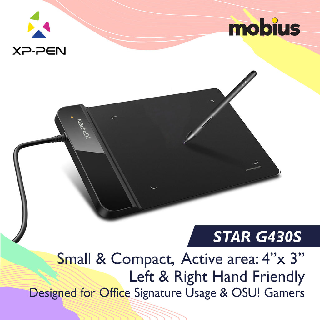 XP-Pen Star G430S Drawing Tablet