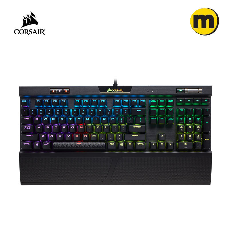 CORSAIR K70 RGB MK.2 Mechanical Gaming Keyboard -  CHERRY MX Red/Blue