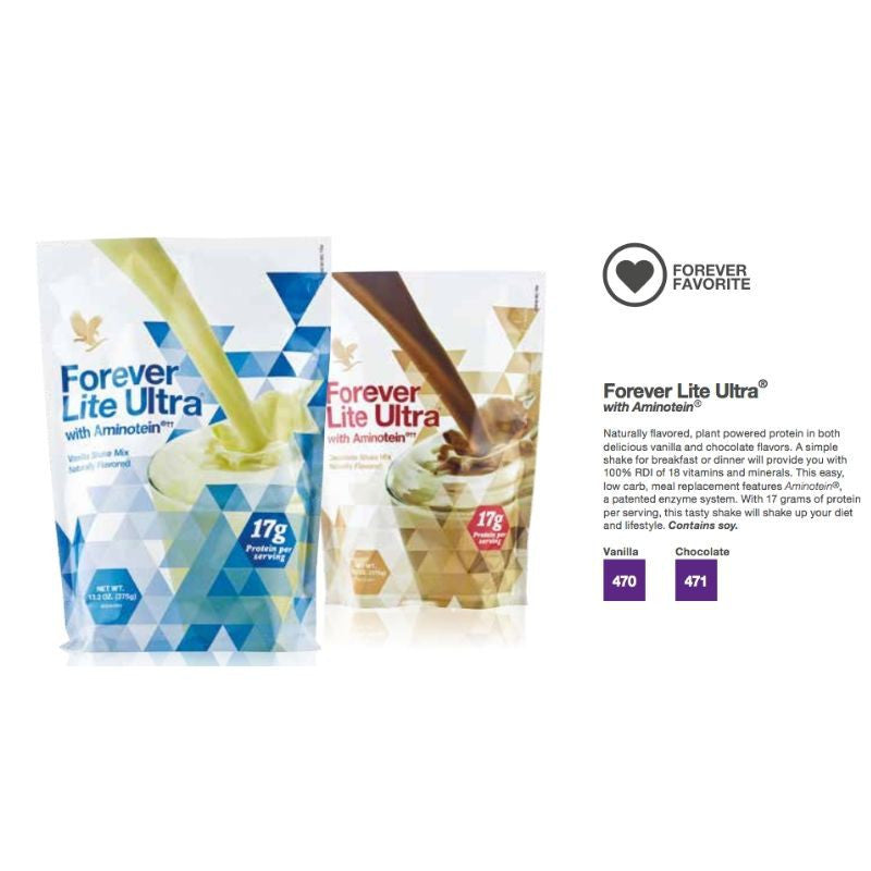 Forever Lite Ultra with Aminotein - Vanilla