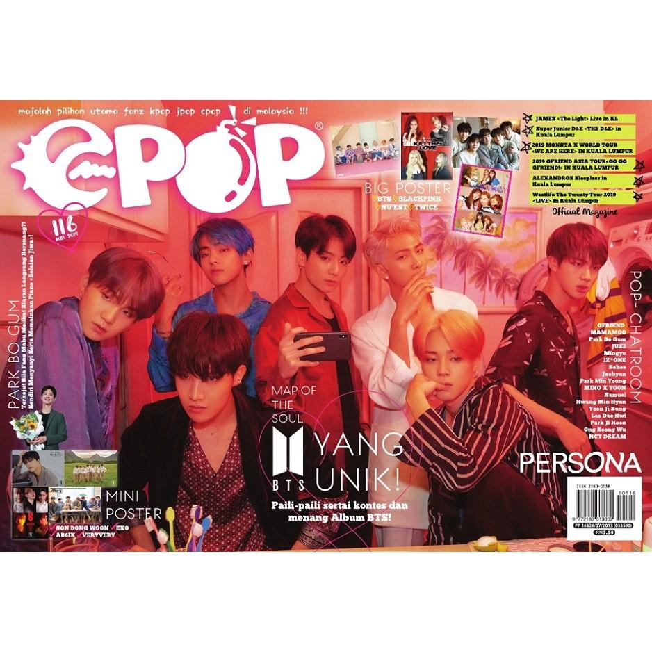 Epop Malay 116 2019-05 Map Of The Soul BTS Yang Unik!