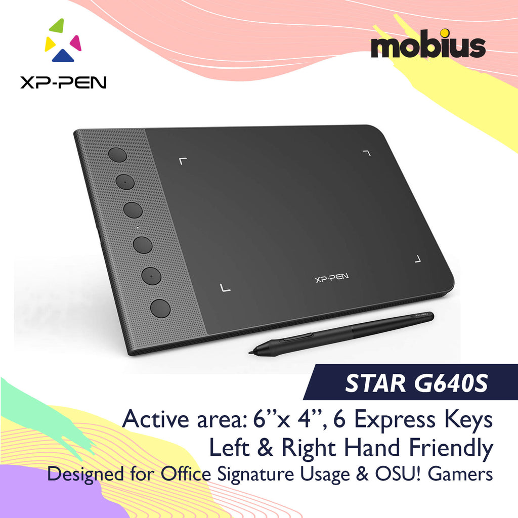 XP-Pen Star G640S Drawing Tablet