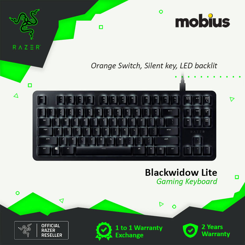 Razer Blackwidow Lite Mechanical Gaming Keyboard