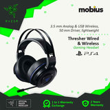 Razer Thresher for PS4 Wireless and Wired Gaming Headset