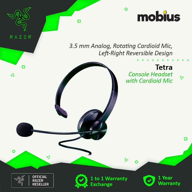 Razer Tetra Console Headset with Cardioid Mic