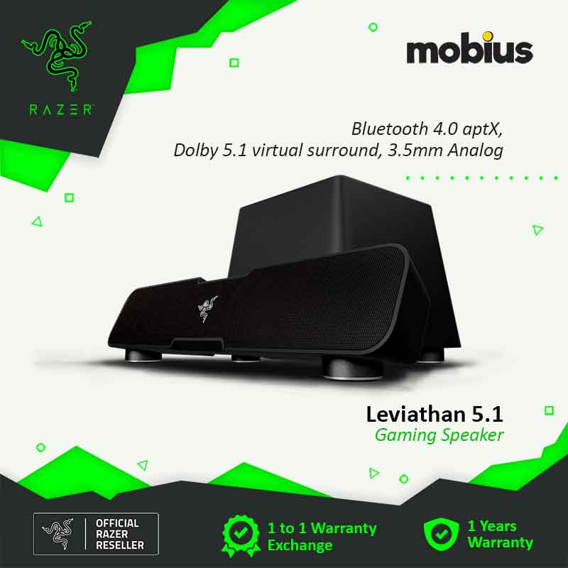 Razer Leviathan 5.1 Surround Soundbar