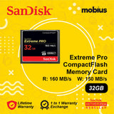 Sandisk 32GB Extreme Pro CompactFlash CF Memory Card