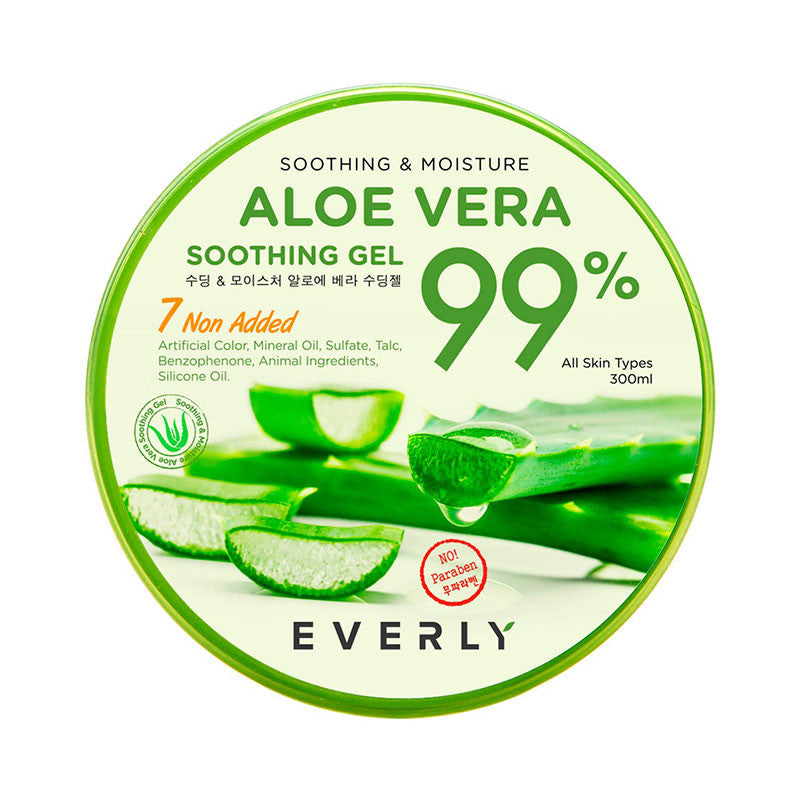 EVERLY Soothing & Moistyre Aloe Vera Soothing Gel 99%