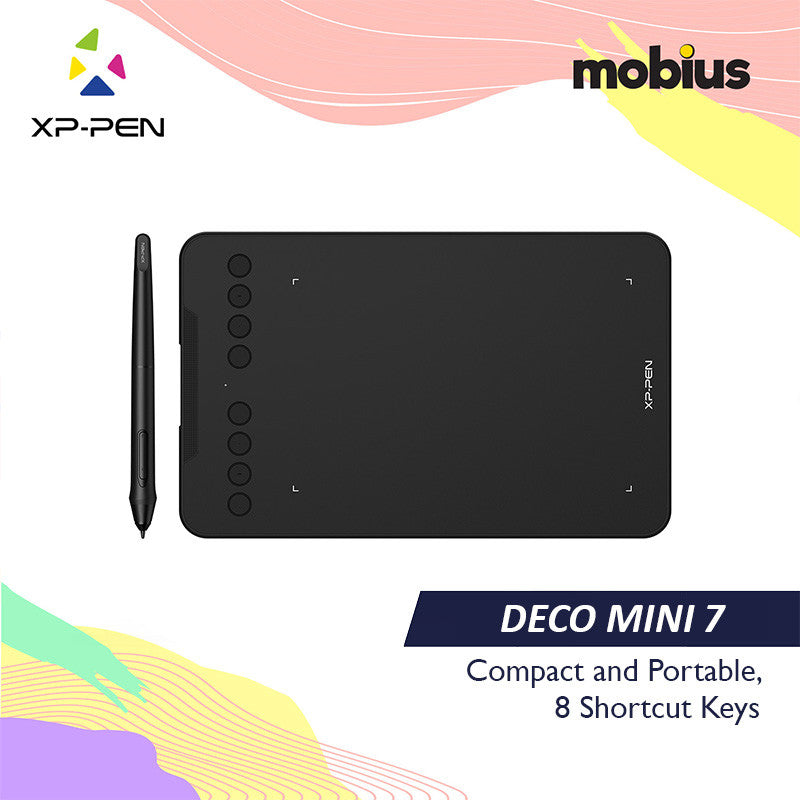 XP-Pen Deco Mini7 Drawing Tablet