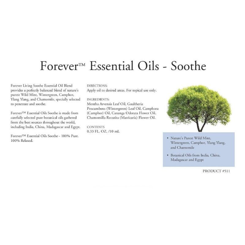 Forever Living Essential Oils Soothe