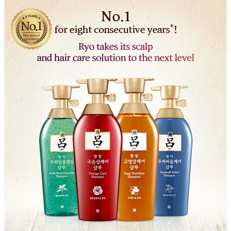 Ryo Damage Care Shampoo / Conditioner 400ml