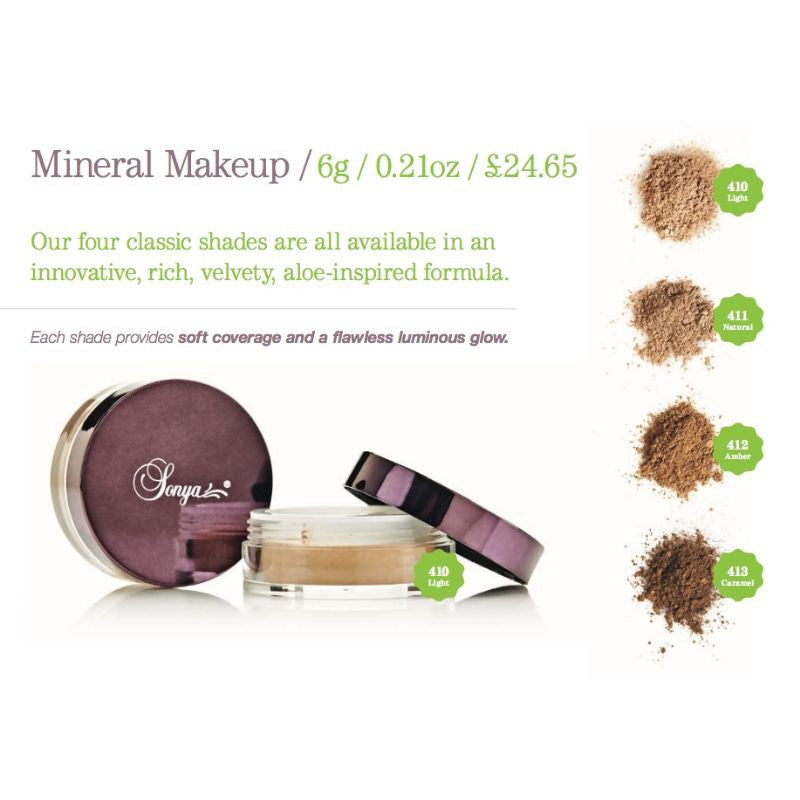 Forever Living Flawless by Sonya Mineral Makeup