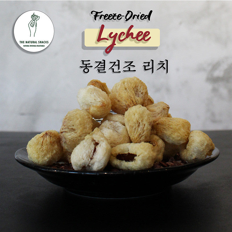 The Natural Snacks - Freeze-Dried Lychee Healthy Snacks 50g/100g