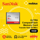 SanDisk 16GB Ultra CompactFlash CF Memory Card