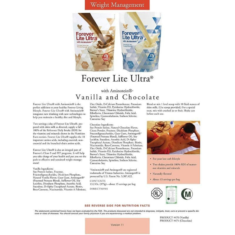 Forever Lite Ultra with Aminotein - Chocolate
