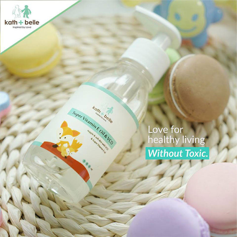 Kath+Belle Super Vitamin E Oil & VCO 100ML