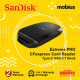 SanDisk Extreme Pro CFexpress Card Reader
