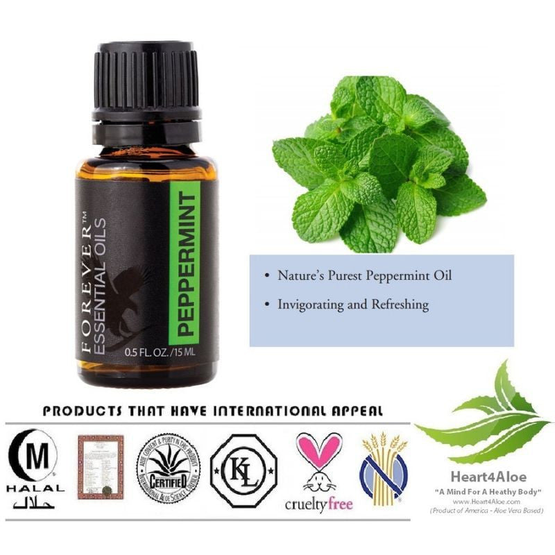 Forever Living Essential Oils Peppermint Single Note