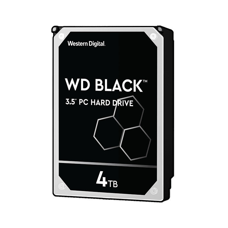 "WD 3.5"" 7200rpm Black Performance Desktop Internal Hard Drive HDD Sata 6GBs - 1/2/4/6TB"