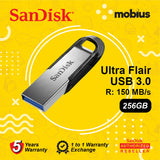 Sandisk 256GB Ultra Flair CZ73 USB 3.0 Flash Drive