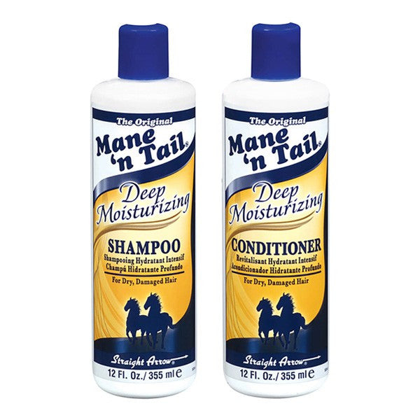 Mane N Tail Deep Moisturizing Shampoo 355ml & Conditioner 355ml Set