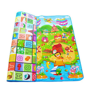 0.5cm Baby Play Double-sided Children Puzzle Pad Crawling Kids Rug Gym Soft Floor Game Carpet Toy Eva Foam Developing Mats-home textile-betahavit-China-200CM*180CM-betahavit