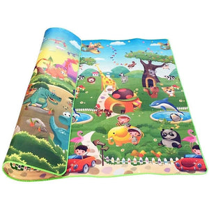 0.5cm Double-Side Baby Crawling Play Mat Dinosaur Puzzle Game Gym Soft Floor Eva Foam Children Carpet for Babies KidsToys-home textile-betahavit-China-200CM*180CM-betahavit